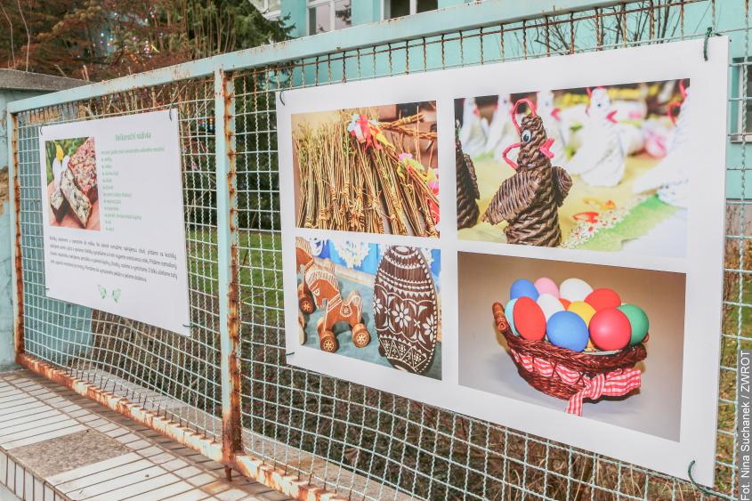 Wystawa, którą można obejrzeć w ramach wielkanocnego spaceru