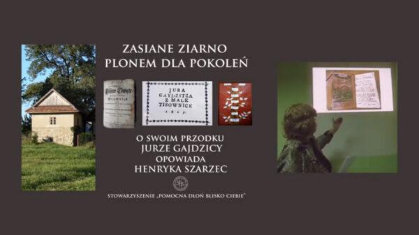 Prelekcja o  Jurze Gajdzicy z Cisownicy do odsłuchania w sieci