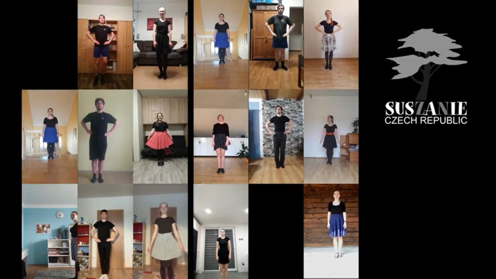 Wspólny taniec… każdy w swoim domu