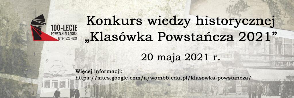 """Przed nami kolejna edycja """"Klasówki Powstańczej"""""""