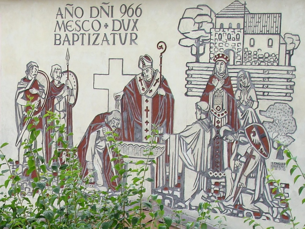 Chrzest Polski – symboliczne wydarzenie, które było początkiem państwa polskiego