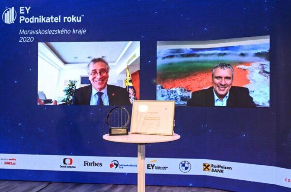 Tytułu Przedsiębiorca Roku 2020 zyskał kandydat z Czeskiego Cieszyna