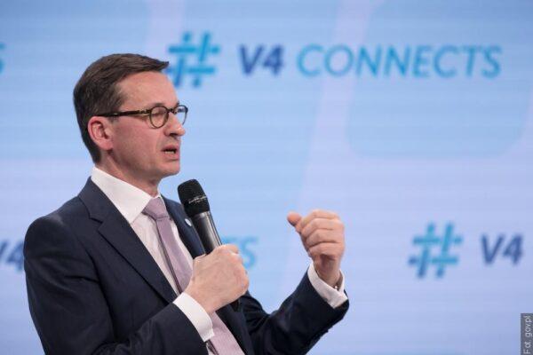 Mateusz Morawiecki poprowadzi wideokonferencję premierów V4. Tematem stosunki czesko-rosyjskie