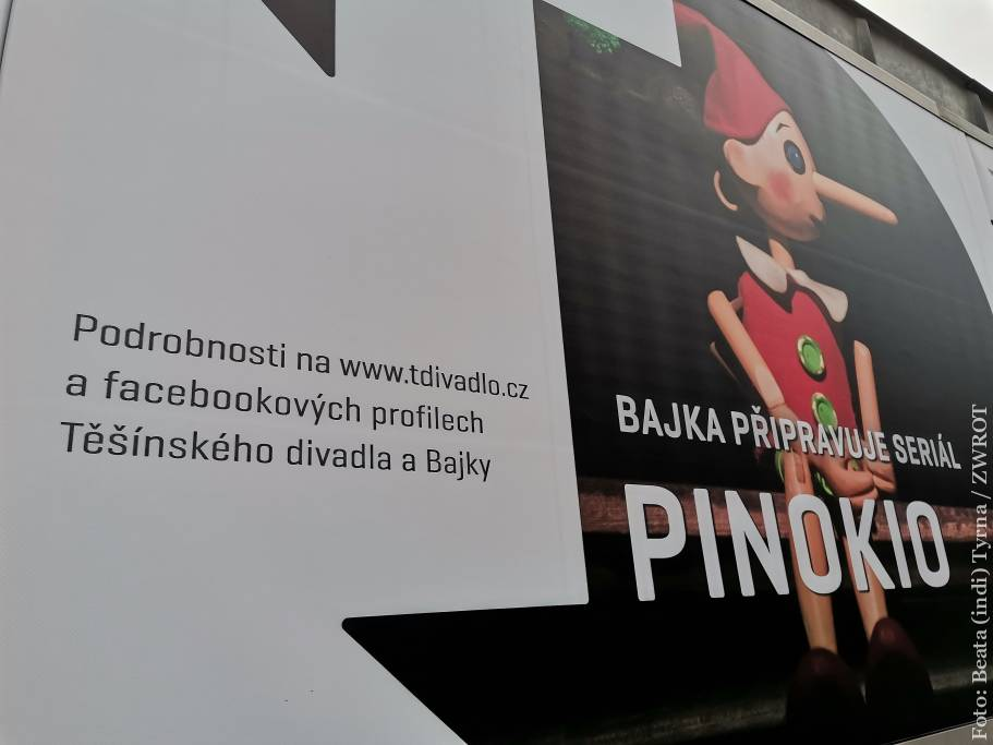 """Już można obejrzeć """"Pinokia"""" Sceny Lalek Bajka"""