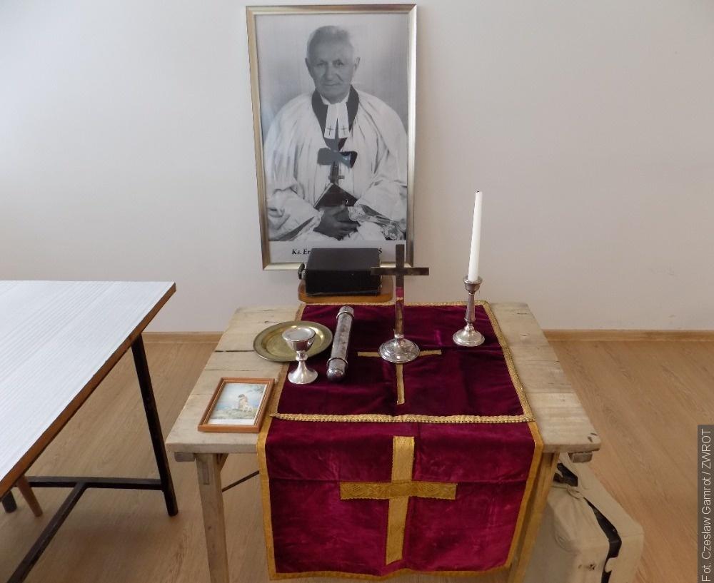 Prelekcja o księdzu kapelanie Eryku Cimale