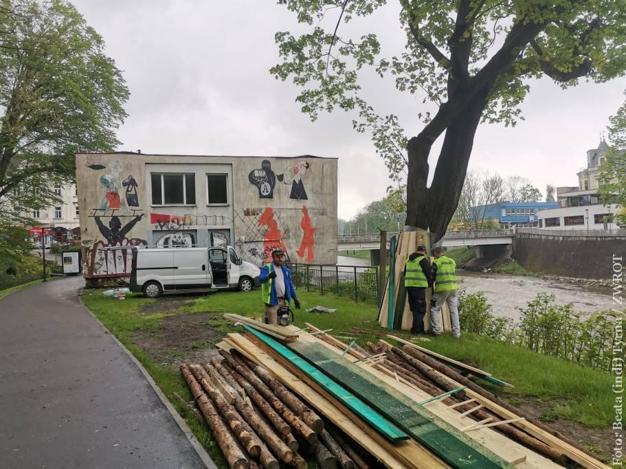 Niebawem rozpocznie się rozbiórka dawnego budynku celnego