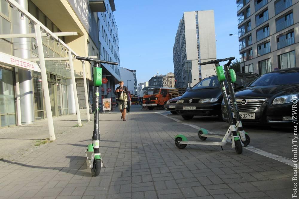 W Polsce uregulowano przepisy dotyczące poruszania się hulajnogami elektrycznymi