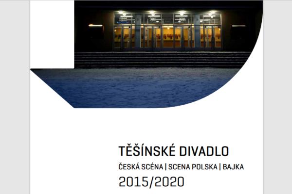 Almanach poświęcony sezonom 2015-2020 Teatru Cieszyńskiego dostępny w sieci