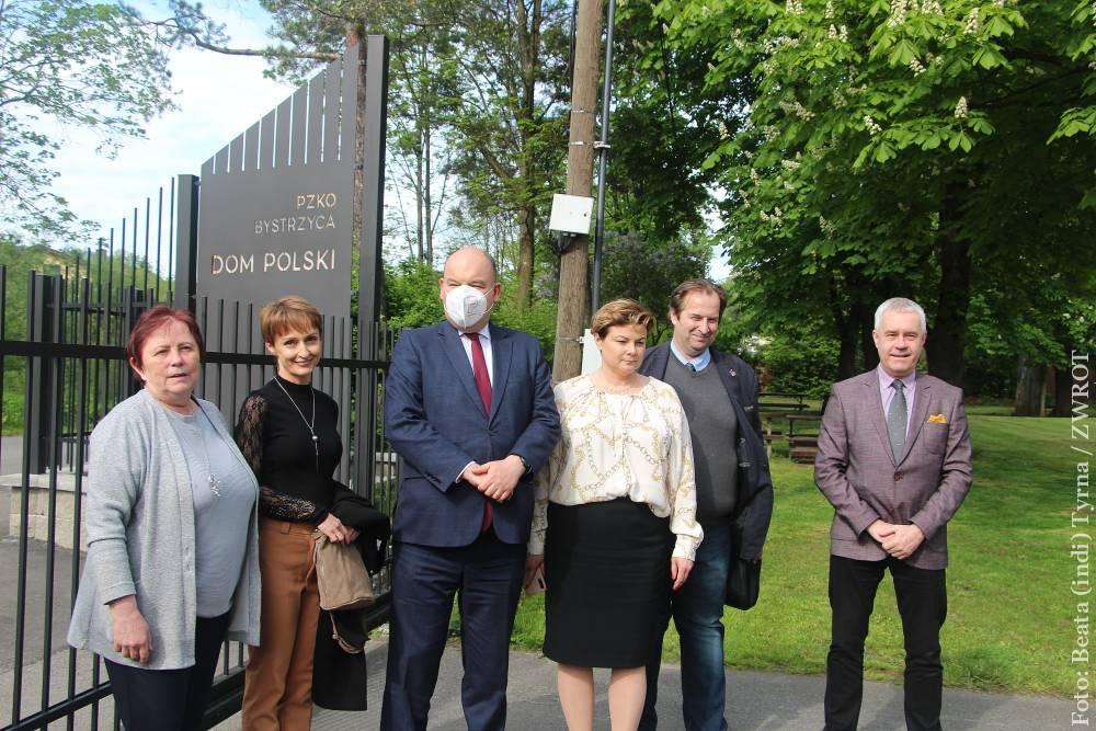 Minister Jan Dziedziczak odwiedził Domy PZKO