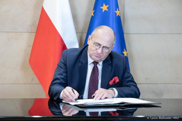 List Ministra Spraw Zagranicznych RP Zbigniewa Raua do Polonii i Polaków za granicą