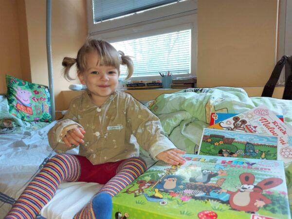 Mali pacjenci w szpitalu na Sośnie świętowali Dzień Dziecka
