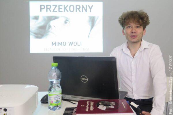MUR. Sylwetkę Leona Derlicha przybliżył słuchaczom Wojciech Święs