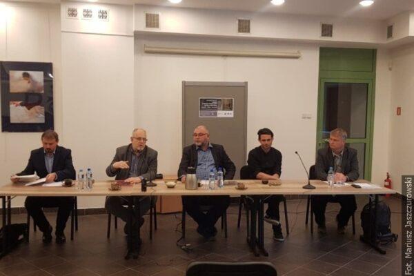 Dyskutowali o polityce pamięci w mieście podzielonym granicą