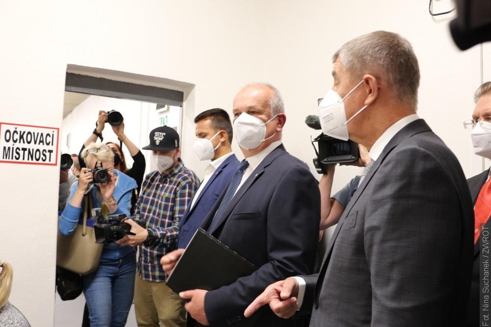 Premier Czech Andrej Babiš odwiedził wczoraj województwo morawsko-śląskie