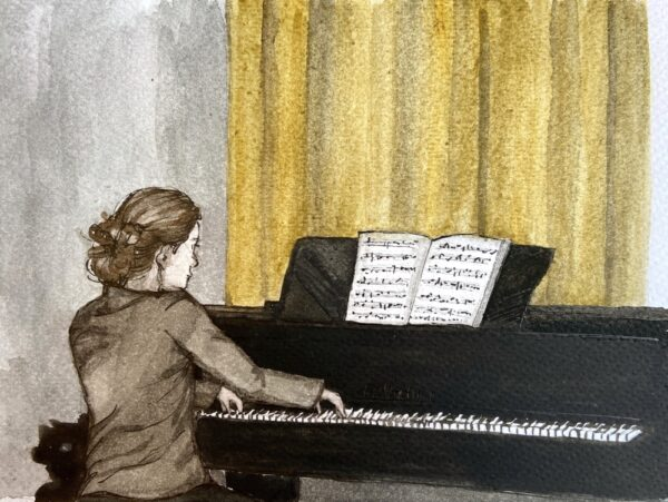 Gra pianistki