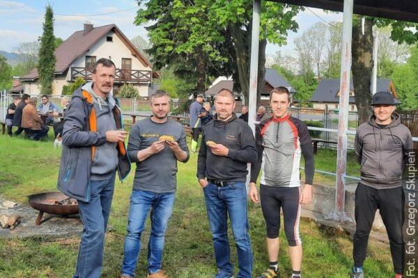 Chórzyści z Gorola smażyli jajecznicę