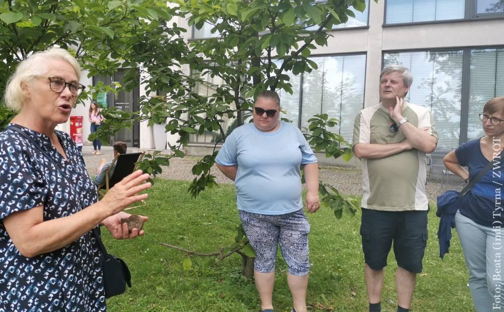 Ewa Gołębiowska opowiadała o designie na Wzgórzu Zamkowym