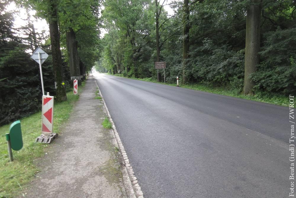 Od soboty otwarta będzie wyremontowana droga Niebory – Trzycież