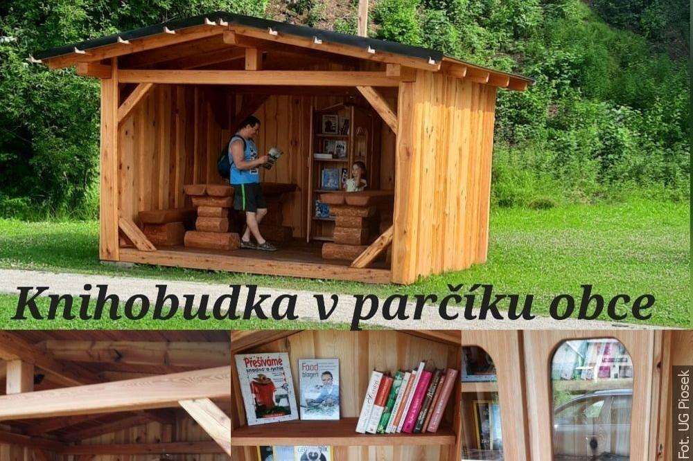 W Piosku też jest biblioteczka uliczna