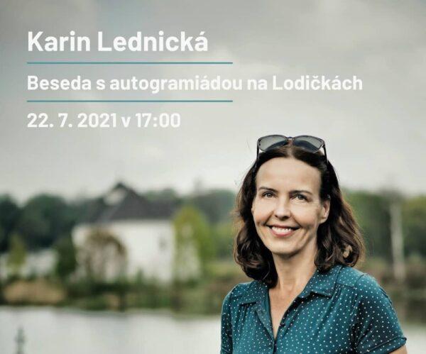 W Karwinie odbędzie się spotkanie autorskie z Karin Lednicką