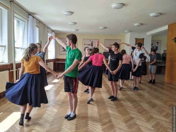 Tancerze Błędowic przygotowywali się w Milikowie do najbliższych występów