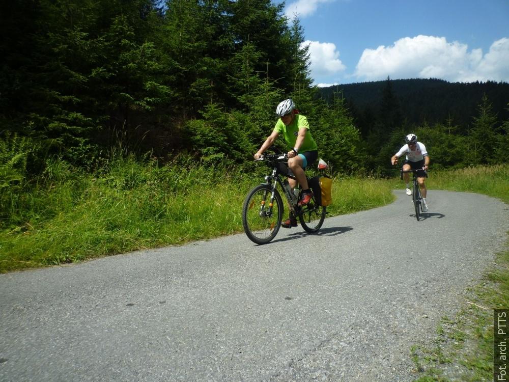 Wycieczka rowerowa do Morawki. Następna będzie w polskie Beskidy