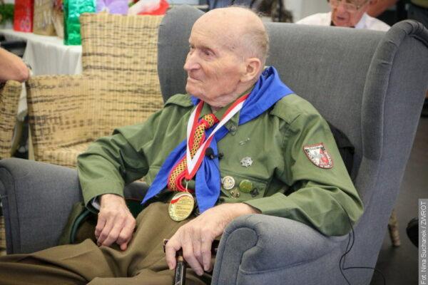 Adolf Pawlas obchodził 100 lat