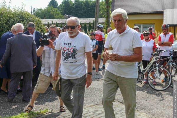 Kolarze upamiętnili ofiary I powstania śląskiego