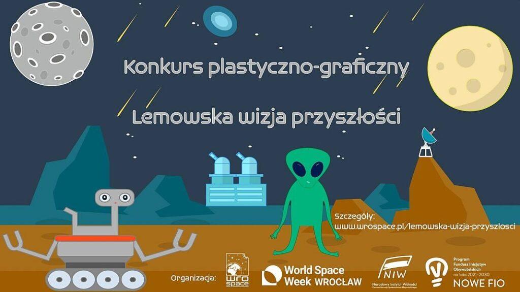 Lemowska wizja przyszłości – konkurs plastyczny dla każdego