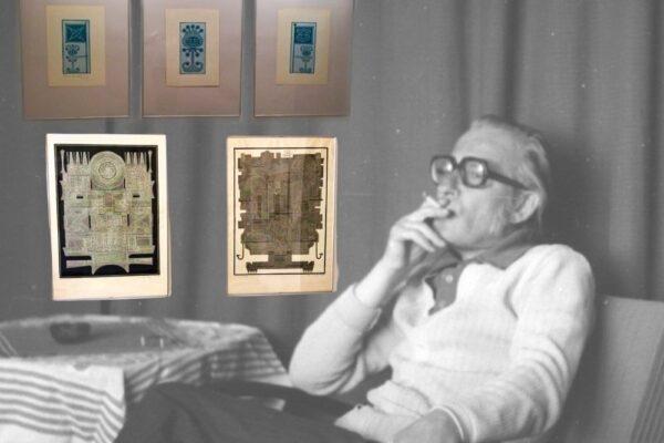Wystawę prac Tadeusza Bergera można obejrzeć online