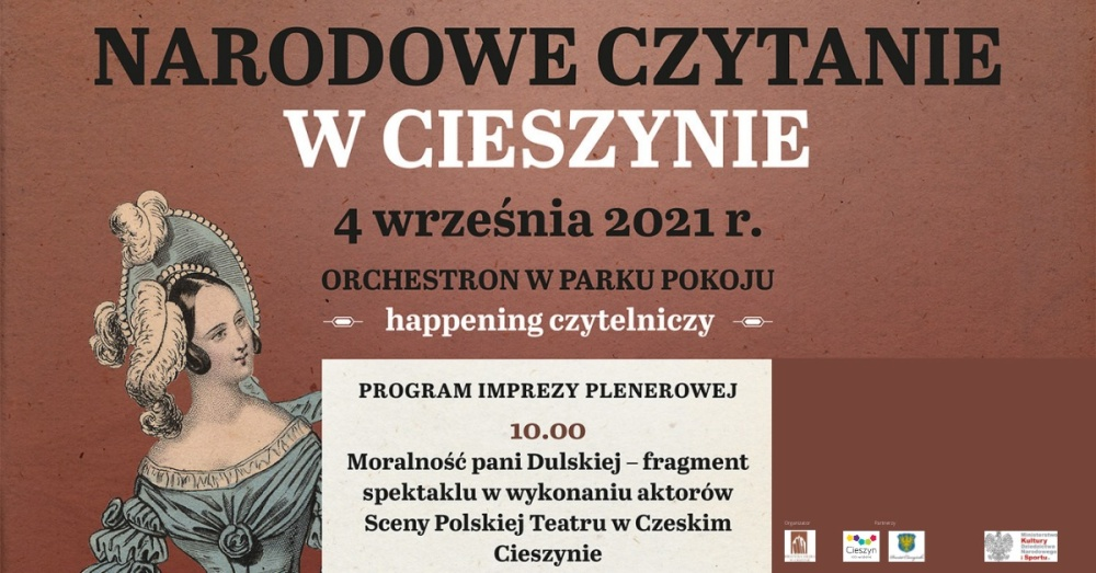"""4 września cała Polska czytać będzie """"Moralność pani Dulskiej"""" Gabrieli Zapolskiej"""