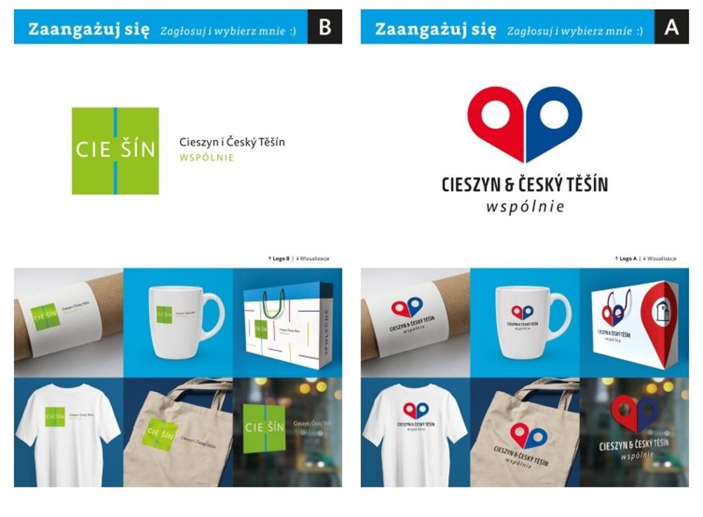 Miasta Cieszyn i Czeski Cieszyn będą miały wspólne logo. Można wybierać z dwu propozycji