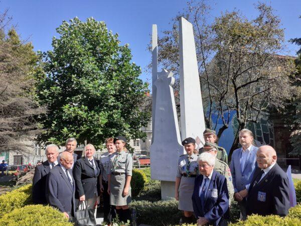 W Bielsku-Białej również uczczono rocznicę katastrofy w Cierlicku