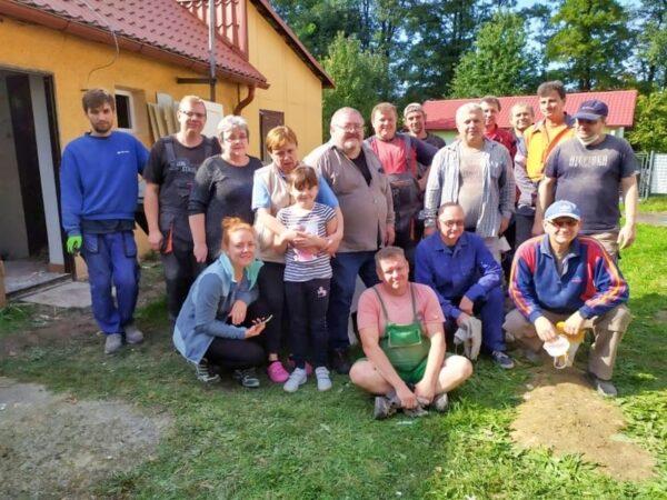 Zobaczcie, jak członkowie MK PZKO w Karwinie-Raju modernizują swój dom [zdjęcia]