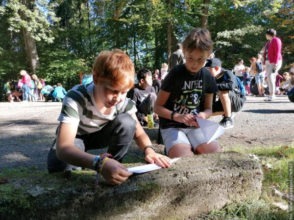 Oprócz lekcji historii był czas na zabawę. Tym razem w Młodym Żwirkowisku wzięły udział młodsze dzieci