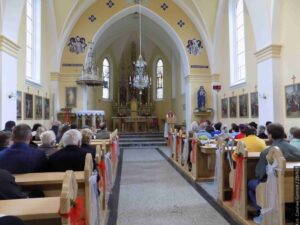 Kościół katolicki w Trzanowicach zbudowano w 1904 roku. Niedawno odnowiono jego wnętrze