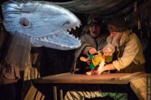 Gratka dla małych teatromanów lubiących  fantasy