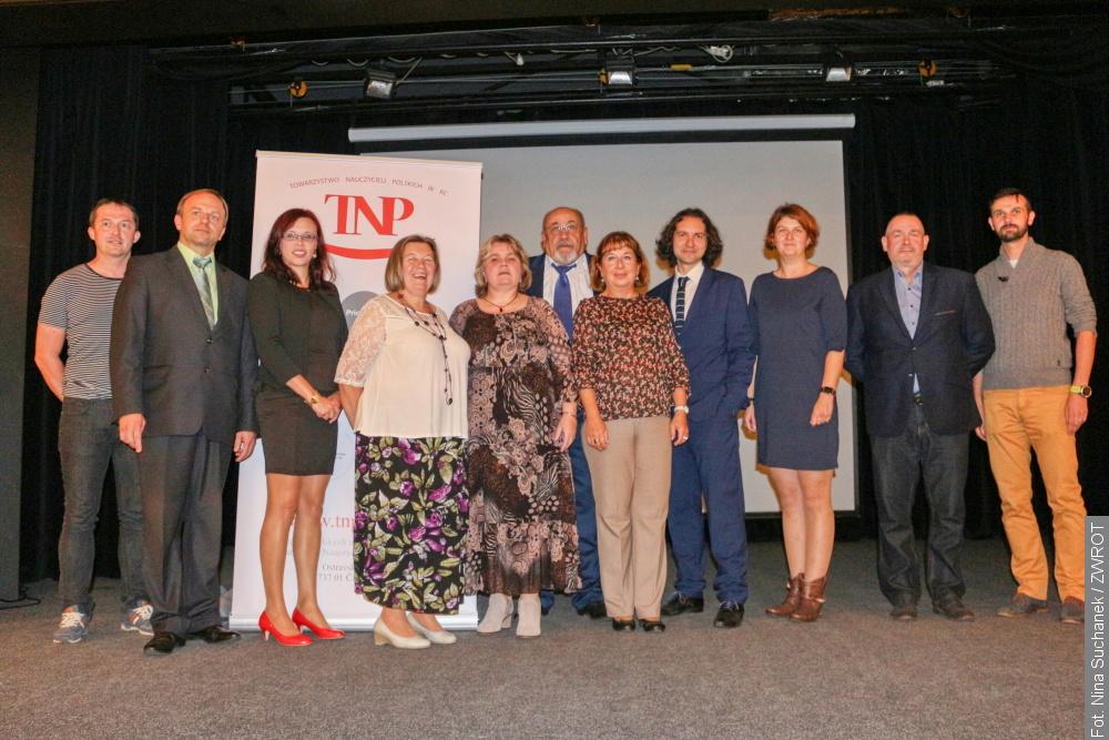 Nowy zarząd Towarzystwa Nauczycieli Polskich