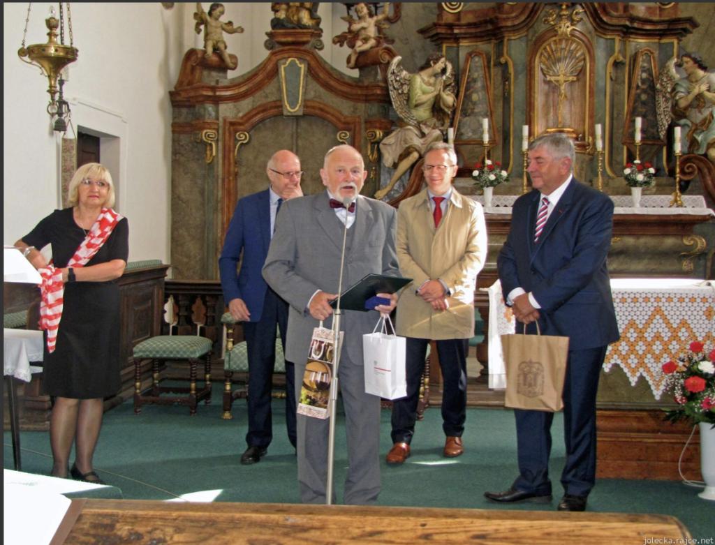 Stanisław Gawlik otrzymał medal pamiątkowy miasta Lysá nad Labem za popularyzację kultury polskiej